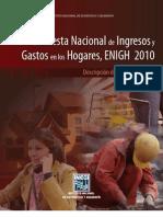2011 INEGI Gasto Hogares Metodología