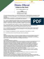 PORTARIA 2619.11      Regulamento de Boas Práticas e de Controle de condições sanitárias e técnicas das atividades