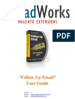 Aw Follow Up Email User Guide 3 4 1