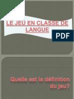 3-Le jeu en classe de FLE.pptx