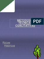 Metodos y Tecnicas Cualitativas