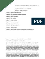 Resumo - Curso de Direito Processual Do Trabalho - Renato Saraiva