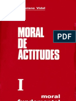 Marciano Vidal, Moral de Actitudes I. Moral Fundamental