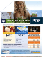 Royal Caribbean 2013 Beverage Packages