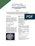Informe 10 - Estructura NaCl