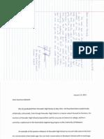 Pencader Letters to de DOE