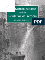 34979460 the Kantian Sublime and the Revelation of Freedom