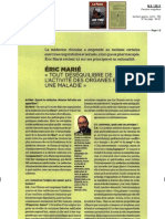 éric Marié . Art. Le point