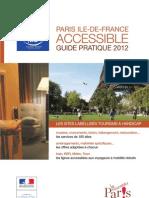 Guide Tourisme Et Handicap 2012