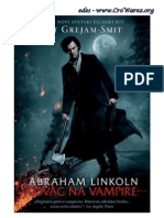 Seth Grahame-Smith - Abraham Linkoln - Lovac Na Vampire_docx