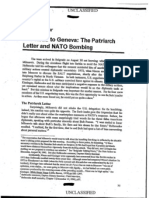 Chapter 4 the Road to Geneva the Patriarch Letter and NATO Bombing