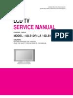 LG - LCD - Mod 42LB1DR_Chasis LA61A - Service