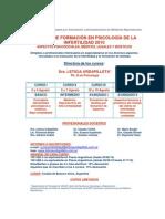 Cursos Psicologia de La Infertilidad 2010 1
