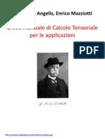 Breve Manuale Calcolotensorialecon Prima Pagina