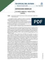 Caracteización y registro maquinaria