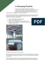 cara memasang parabola dan menentukan arah parabola.pdf
