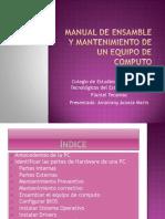 manualdeensambleymantenimientodeunequipo-120111225057-phpapp01