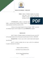 028 - 2012 Retificação Calendário Acadêmico 2013