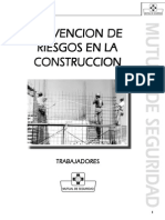 Manual - Prevencion de Riesgos en La Construccion