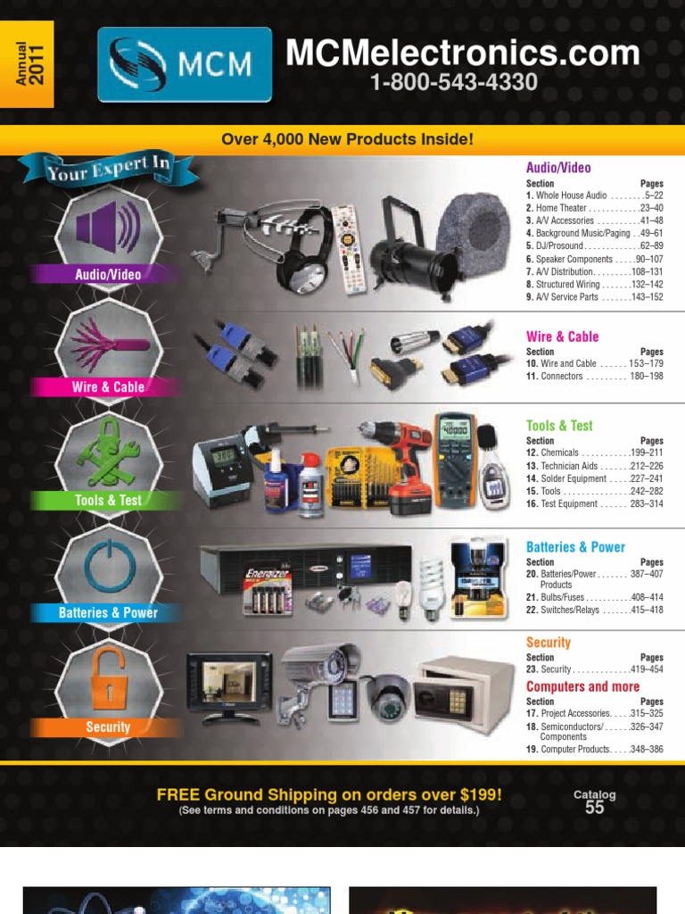 MCM New Products | Loudspeaker | Amplifier