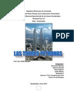 Trabajo Las Torres Petronas