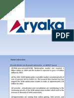 SWOT Analysis of Aryaka Networks