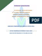 Análisis Comparativo México-Costa Rica