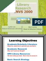 Spring 13 - ENVS 2000
