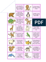 Animals Dominoes Kids