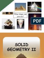 Solid Geometry II - Slide