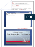 Database Creation Using DBCA