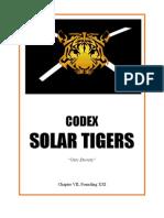fan codex solar tigers