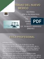 Etica Profesional Ppt