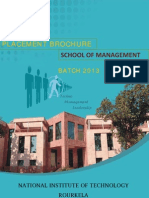 SCHOOL OF MANAGEMENT NIT ROURKELA