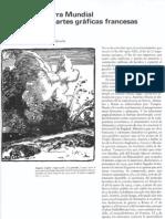 La primera guerra mundial en las artes gráficas francesas