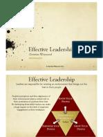 Leadership Ethos