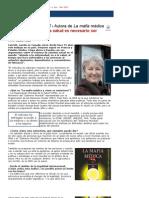 Humanizar.es Ghislaine Lanctt Autora de La Mafia Mdica Para Mejorar Nuestra Salud Es Necesario Ser Ms Responsables