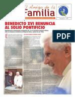 EL AMIGO DE LA FAMILIA, DOMINGO 17 FEBRERO 2013