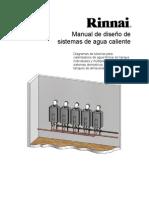 R-TRWH-E-02 Rev D Design Manual Tankless Water Heater Spanish