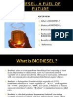 Biodiesel- A Fuel of Future