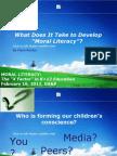 Moral Literacy