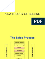 Aida Theory of Selling