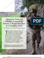Camouflage PatternS OEF