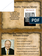 Glasser's Reality Therapy Model
