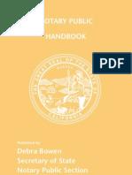 Notary Handbook 2013