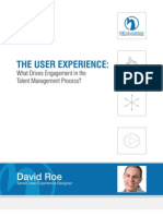 The User experience: