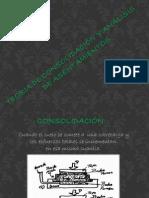 teoria de consolidación y analisis de asentamientos