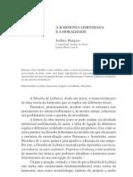 A Harmonia Leibniziana e a Moralidade