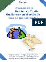 Influencia de la globalización en Tuxtla Gutiérrez