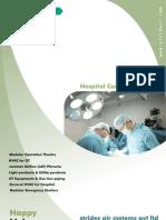 Modular Operation Theatre , Stridair , Hospital care, HVAC